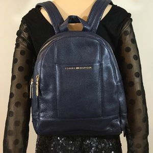 Tommy Hilfiger Pauletta Small Leather Backpack